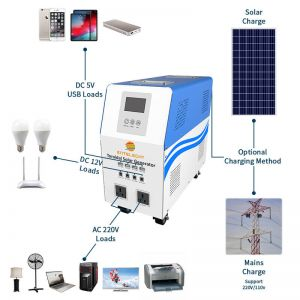 500W solar power system in china