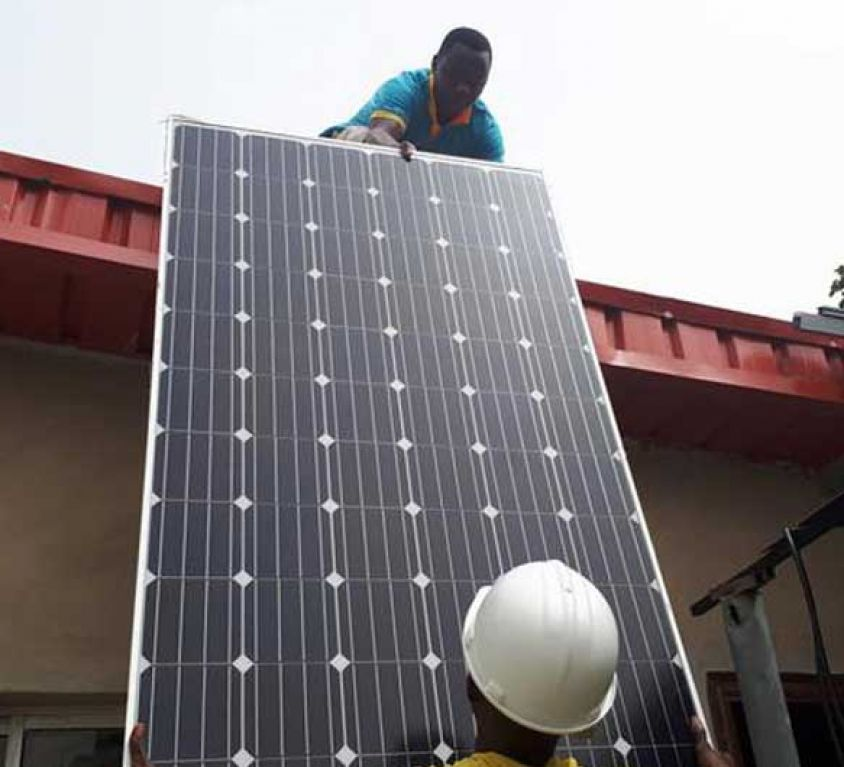 Solar power system project in nigeria