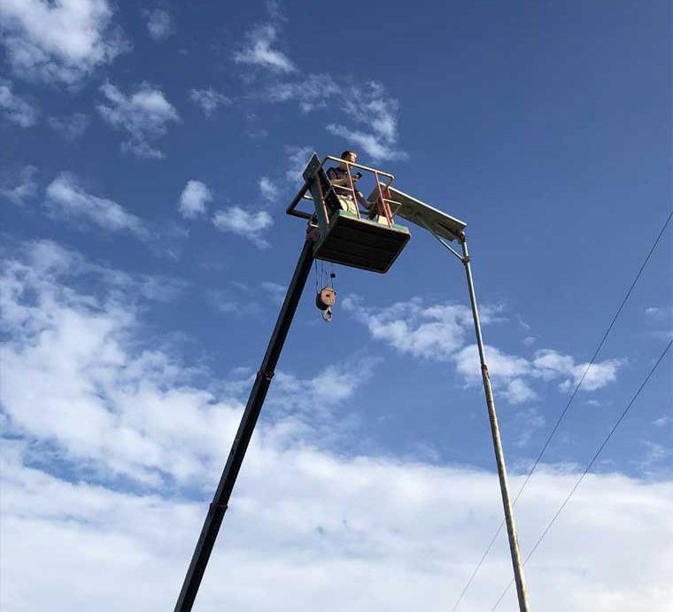 Solar street light project philippines