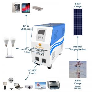 300w solar power system in china