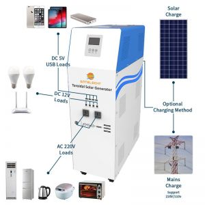 5000w solar power system in china